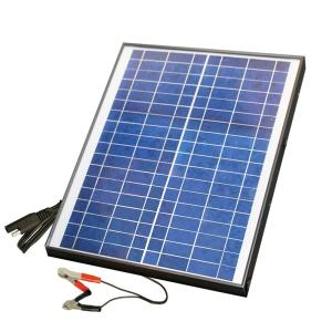 Nature Power 20-Watt Polycrystalline Solar Panel for 12 ...