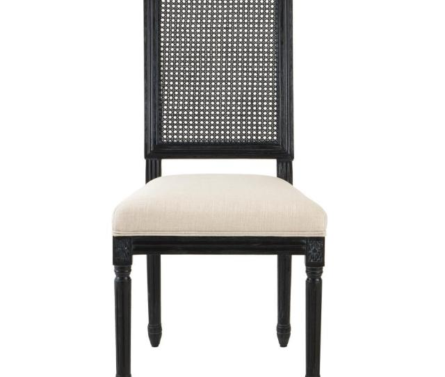 This Review Is Fromjacques Cane Antique Black Square Back Dining Side Chairs Set Of 2