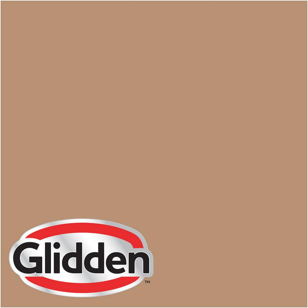 Glidden Premium 5 Gal Hdgo38d Light Autumn Brown Semi Gloss Interior Paint With Primer Hdgo38dp 05sn The Home Depot
