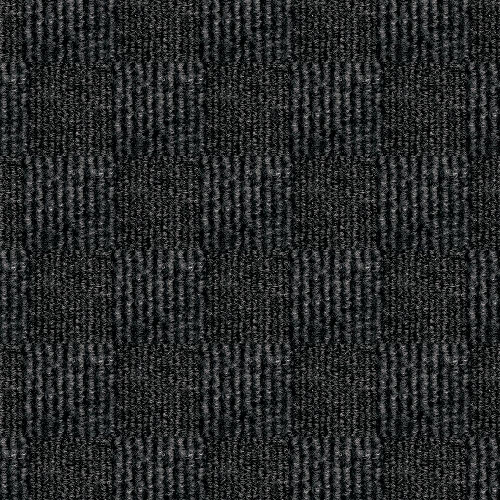 hobnail gunmetal texture 18 in x 18 in indoor outdoor carpet tile 16 tiles case cn14n4716pks 202467020