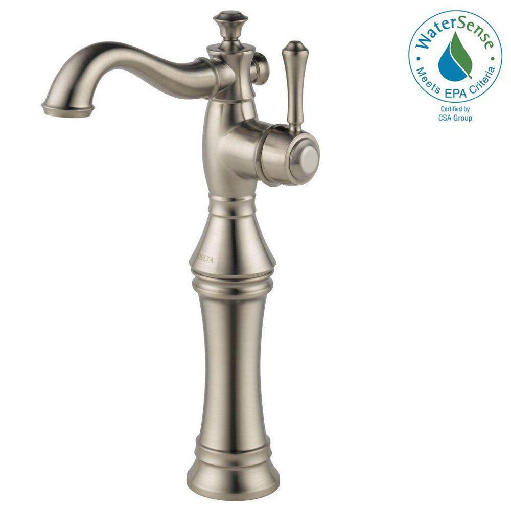 vessel bathroom sink faucets - bathroom sink faucets - the home depot