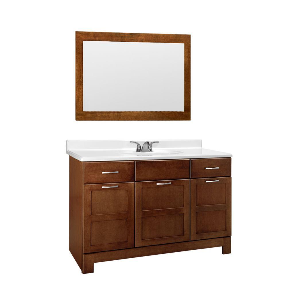 47-49 in. - glacier bay - bathroom vanities - bath - the home depot