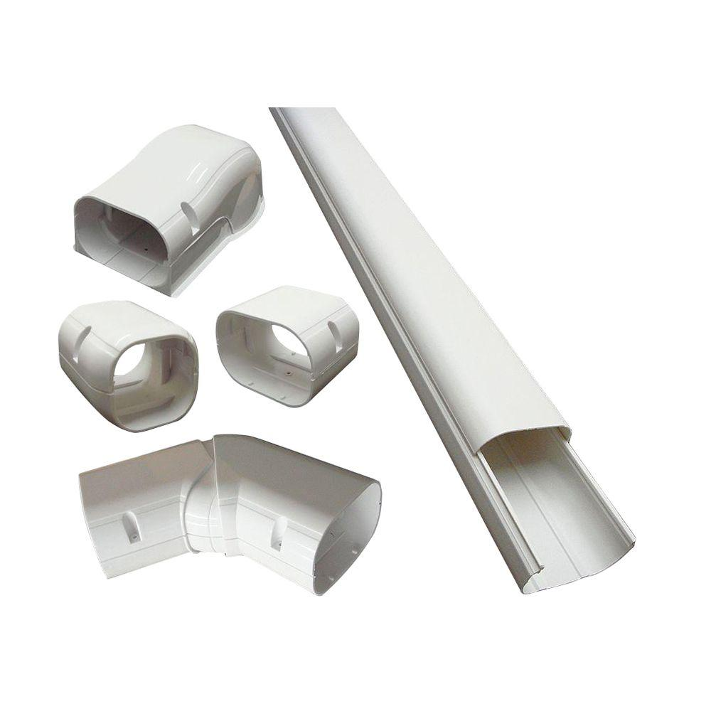 DuctlessAire 4 In X 14 Ft Cover Kit For Air Conditioner And Heat Pump Line Sets Ductless