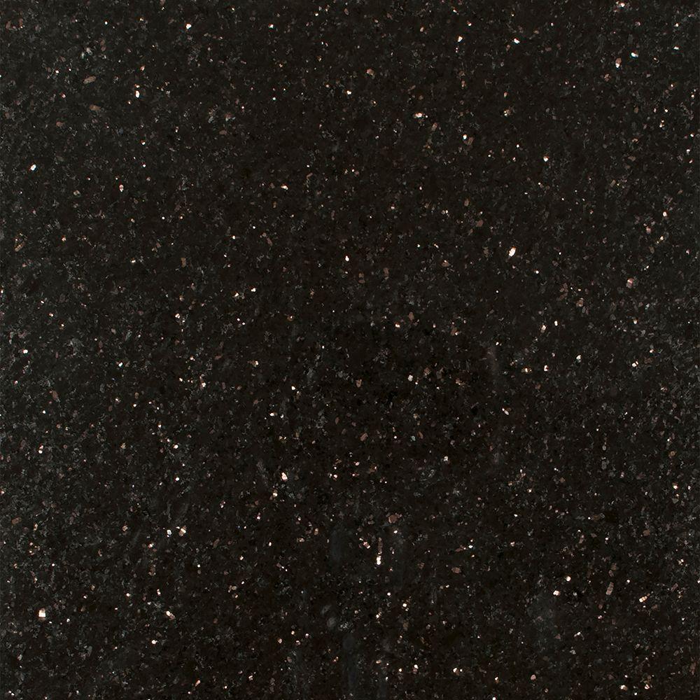 Stonemark Granite 3 in. x 3 in. Granite Countertop Sample ... on Black Granite Countertops  id=12143