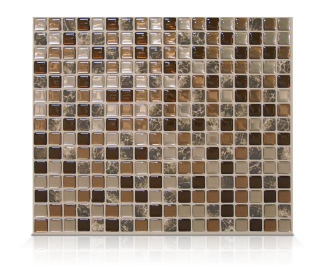 Smart Tiles Minimo Roca   In W   In H Peel And Stick Self