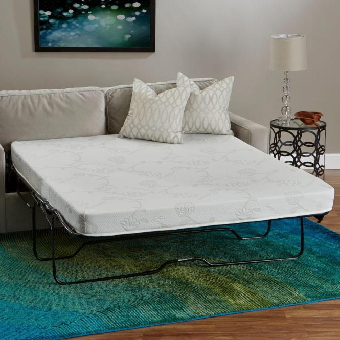 Innere Luxury Products Full Size Foam Sleeper Sofa Mattress