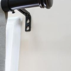 Curtain Rods - Window Treatments - The Home Depot
