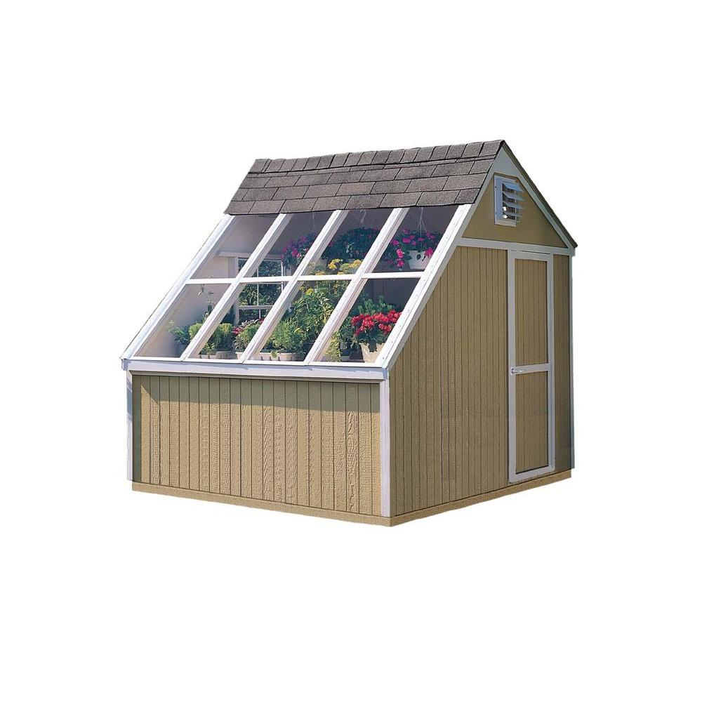 Handy Home Products Phoenix 10 Ft X 8 Ft Solar Shed With