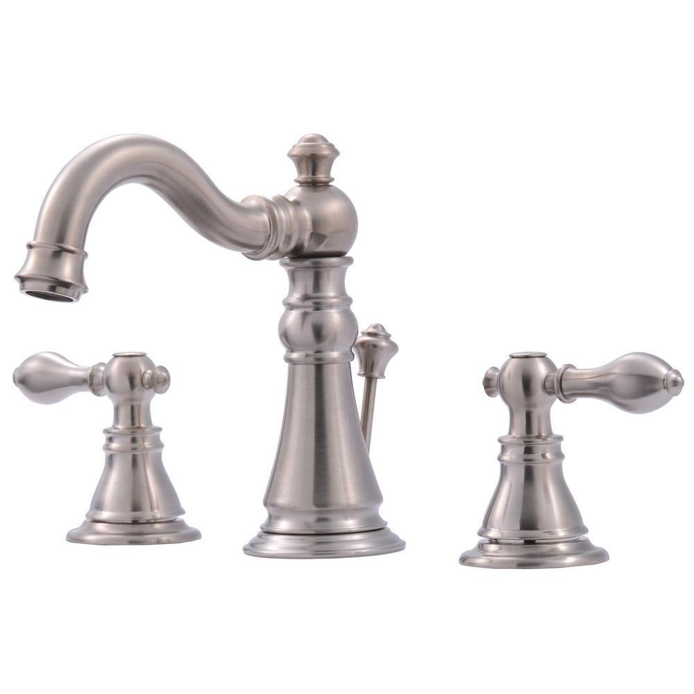 3 hole bathroom faucet tall 2 handle 8