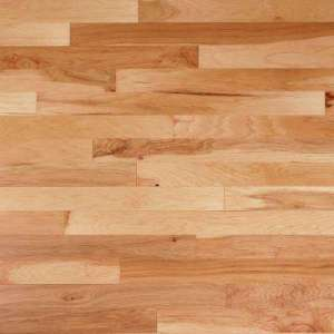 Engineered Hardwood   Wood Flooring   The Home Depot Vintage Hickory Natural 1 2 in  Thick x 5 in  Wide x Random