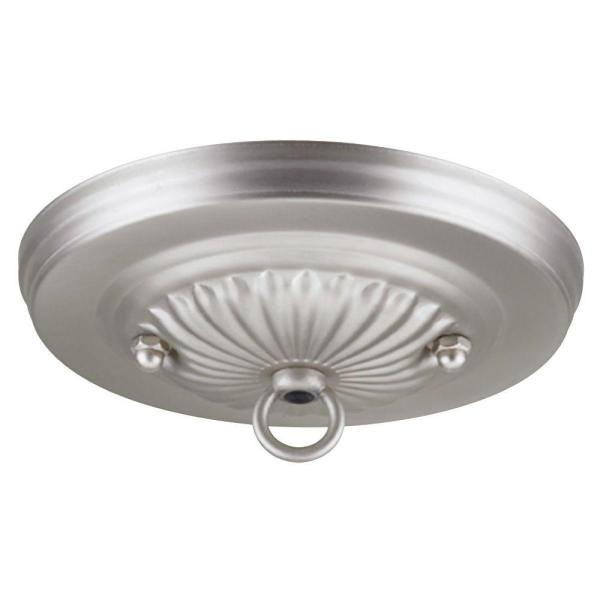 Westinghouse 5 1 8 in  Brushed Pewter Traditional Canopy Kit 7005400     Brushed Pewter Traditional Canopy Kit