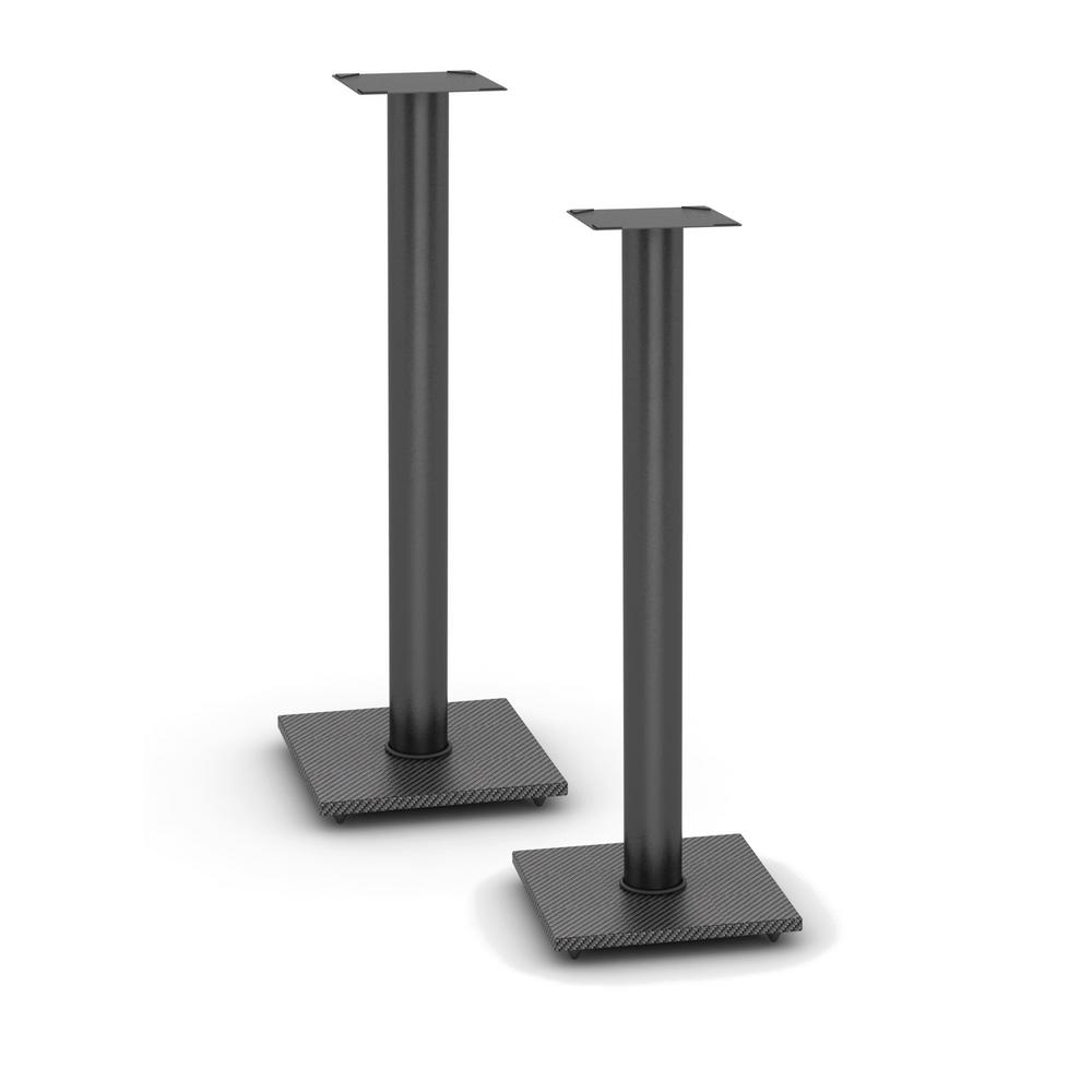 atlantic adjustable bookshelf speaker stand in black-77335799 - the