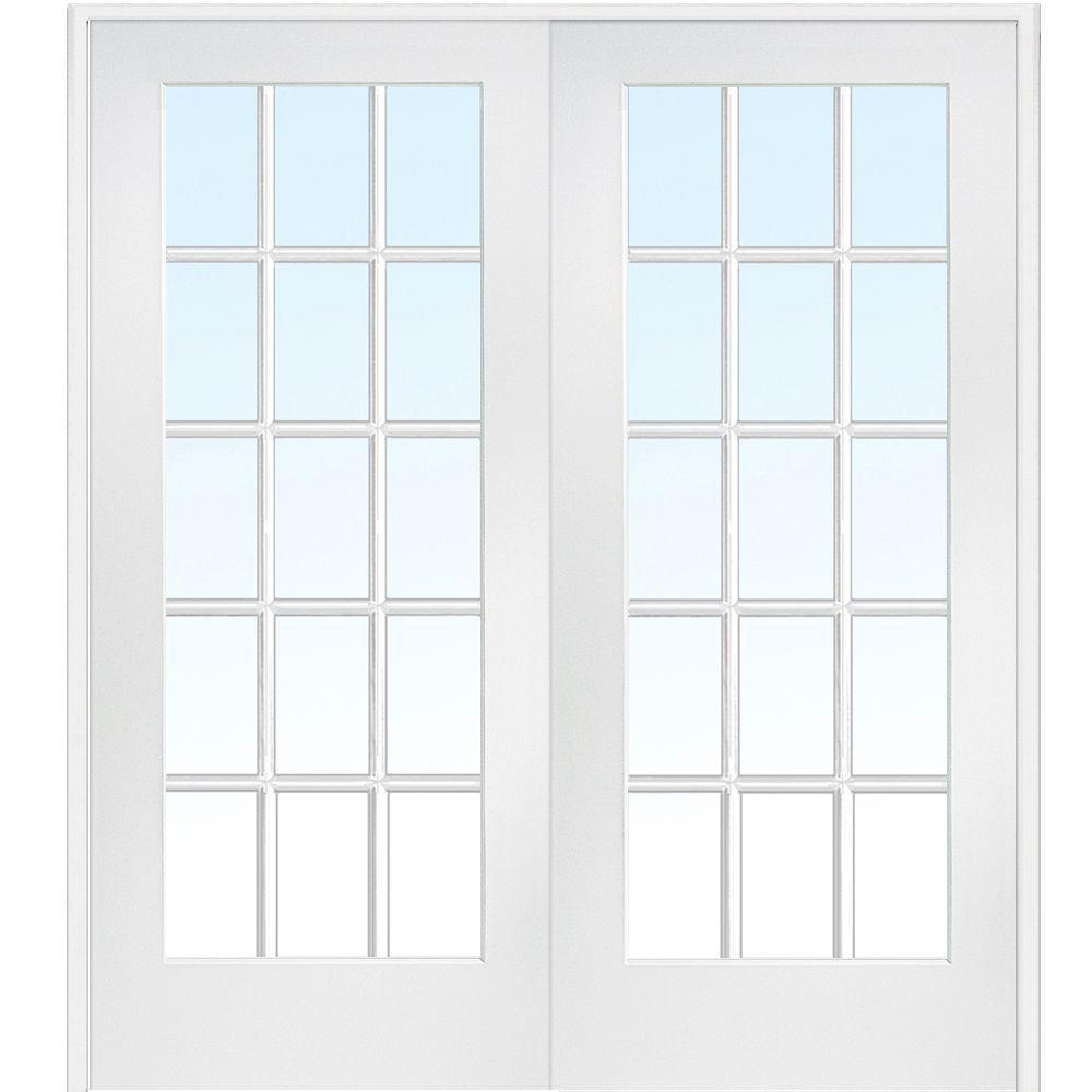 Prehung Interior French Doors 72 X 80