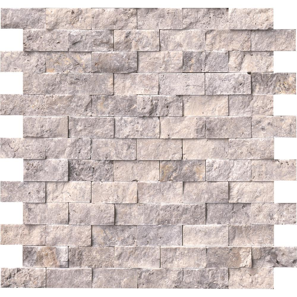 Split Face Travertine Tile