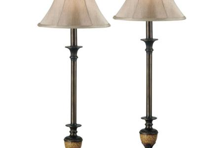Kenroy Home Emily 30 in  Crackled Bronze Buffet Lamp Set  2 Pack     Kenroy Home Emily 30 in  Crackled Bronze Buffet Lamp Set  2 Pack