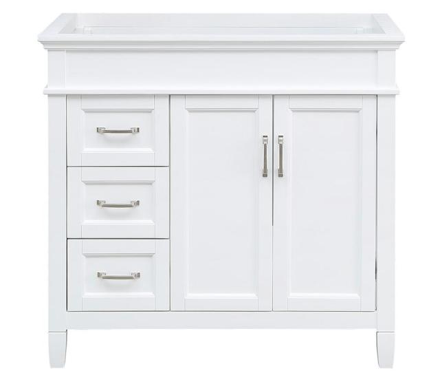 Foremost Ashburn  In W X   In D Vanity Cabinet In White