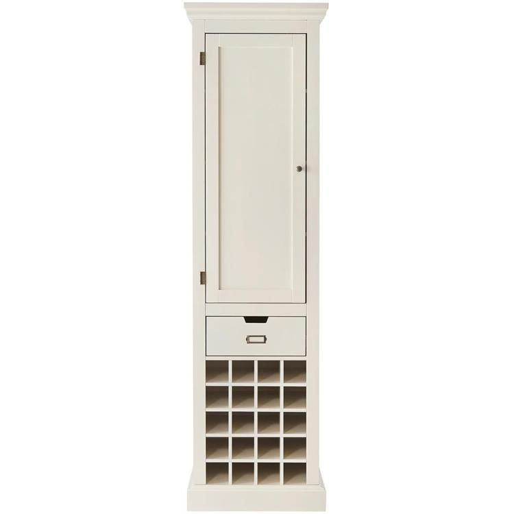 Home Decorators Collection Prescott Polar White Modular Kitchen Pantry With Wine Rack Sk19171br1 Pw The Home Depot
