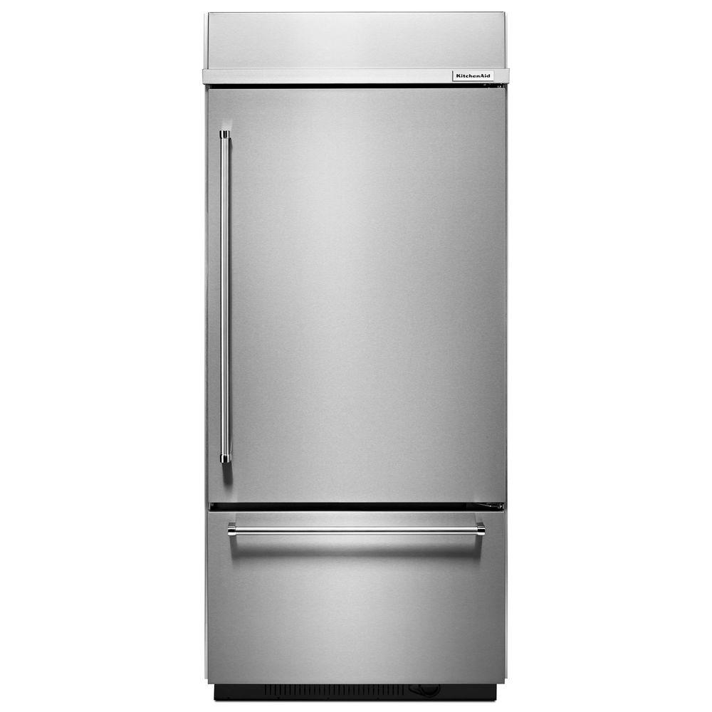 Kitchenaid Refrigerator Platinum Interior