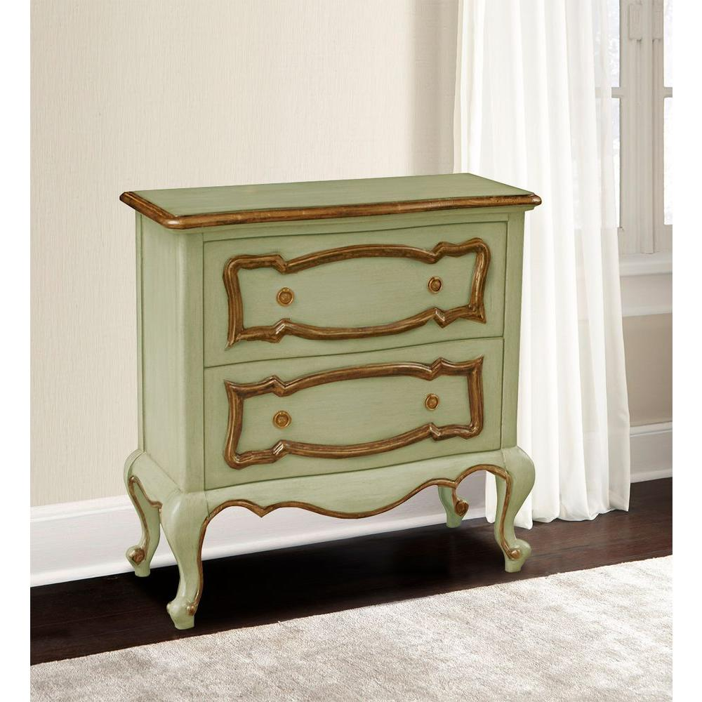 Safavieh Herman Vintage Gray Chest AMH5702A The Home Depot