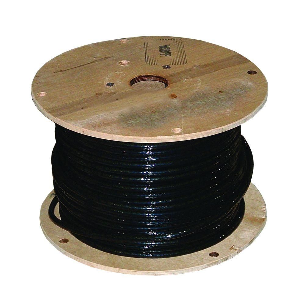 Southwire 500 Ft 2 0 Black Stranded Xhhw Wire