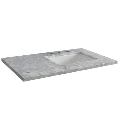 48 inch bathroom vanity top with right