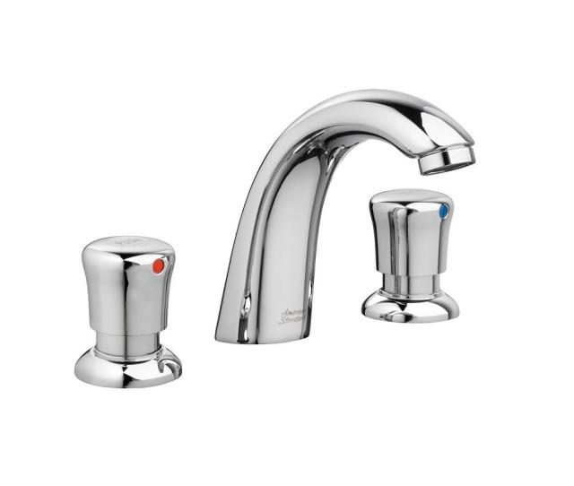 Widespread  Handle Bathroom Faucet In Polished Chrome