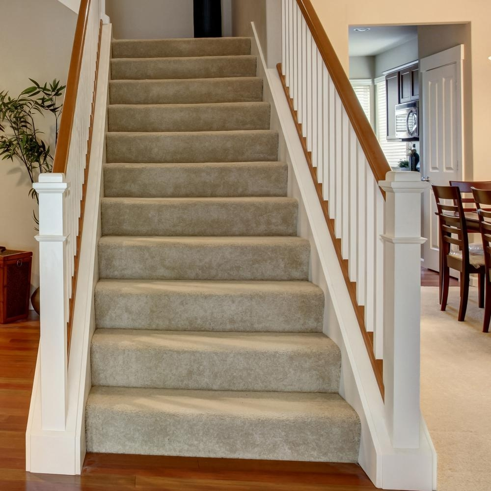 48 In X 11 1 2 In Unfinished Pine Stair Tread 8503E 048 Hd00L | Installing Prefinished Stair Treads | Refinish Stairs | Staircase Makeover | Staircase Remodel | Landing | Hardwood