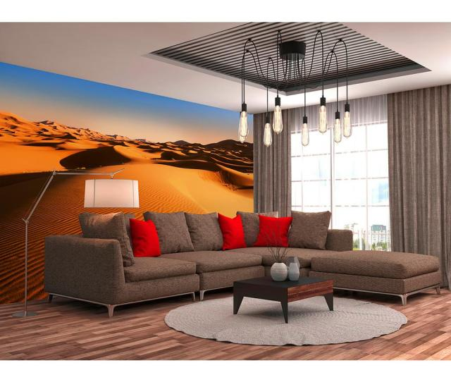 Ideal Decor Desert Landscape Scenic Landscapes Wall Mural