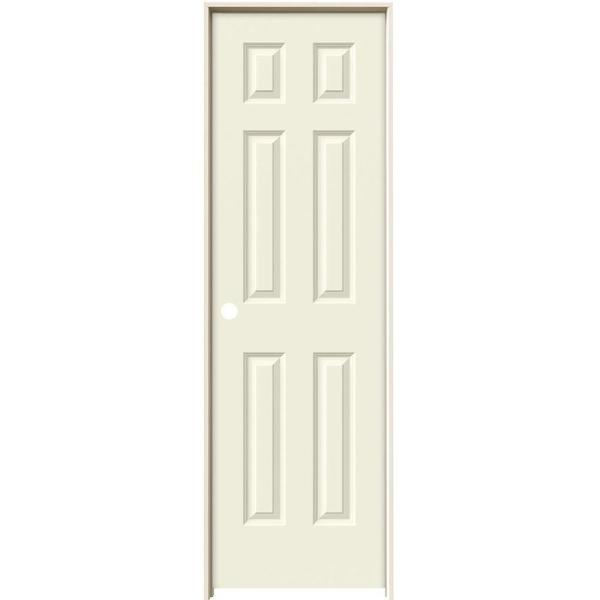 jeld wen 24 in x 80 in colonist primed right on 24 In X 80 In Colonist Primed Textured Molded Composite id=29986
