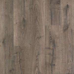 Attached Underlayment   Laminate Wood Flooring   Laminate Flooring     Outlast  Vintage Pewter Oak 10 mm Thick x 7 1 2 in  Wide