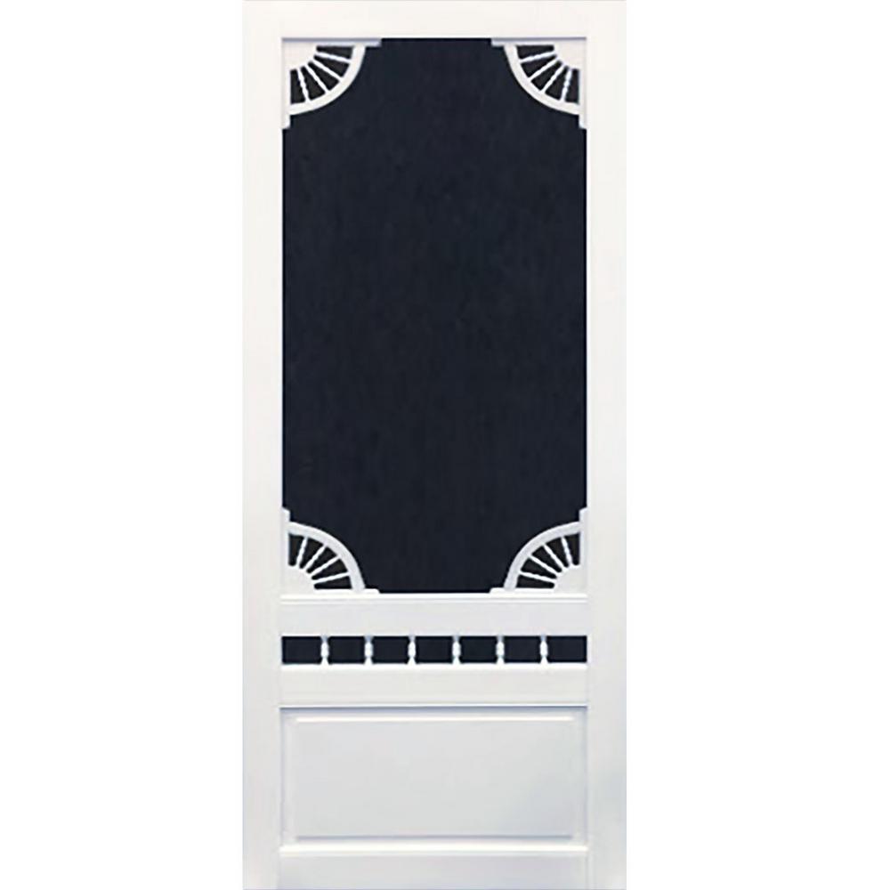 bay 32 in x 80 in dakota white vinyl screen on Bay 32 In X 80 In 32 In Clear 6 Panel Solid id=41692