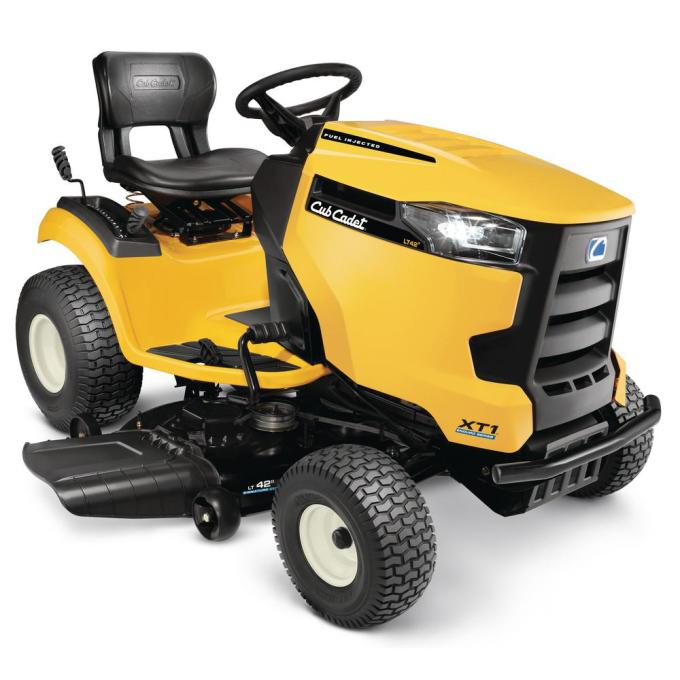 XT1 Enduro Series LT 42 in. 547cc Fuel Injected Hydrostatic Gas Lawn Tractor with Push Button Start and Cub Connect App