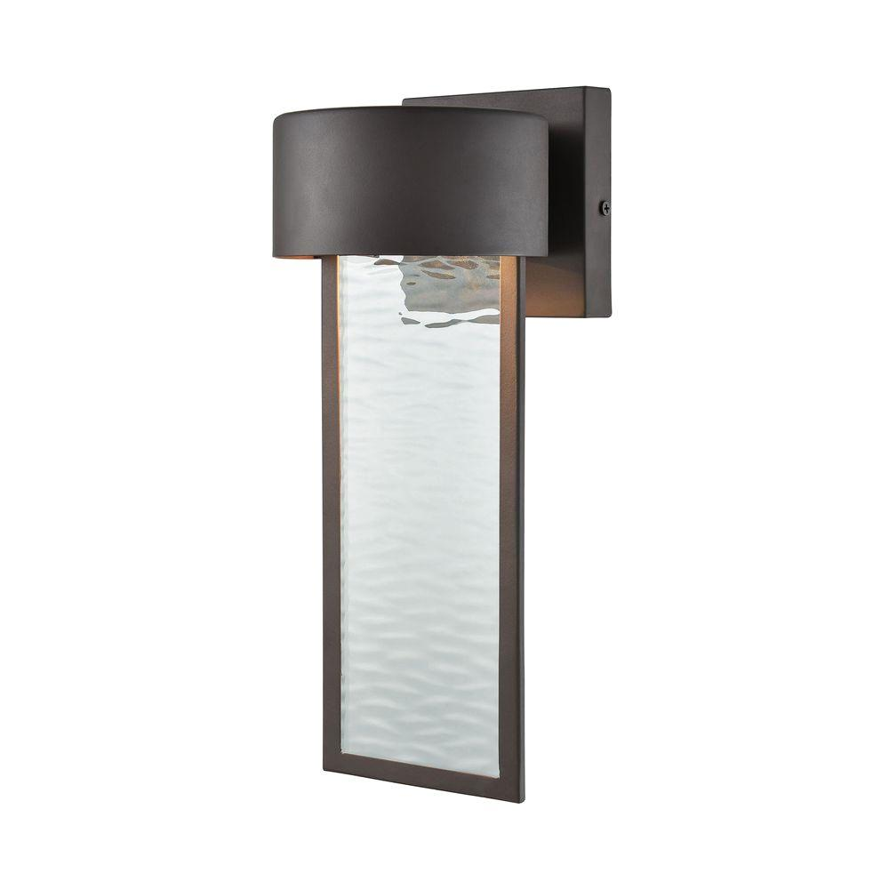 Titan Lighting Julius Clay Bronze Outdoor LED Wall Sconce ... on Led Sconce Lighting id=36741