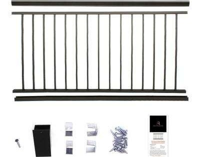 Aria Railing Deck Railings Decking The Home Depot | Home Depot Handrails For Outdoor Steps | Wrought Iron Stair | Pressure Treated | Porch Railings | Metal | Railing Ideas