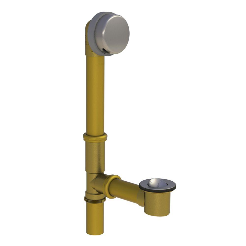 Watco 598 Series 24 In Tubular Brass Bath Waste With