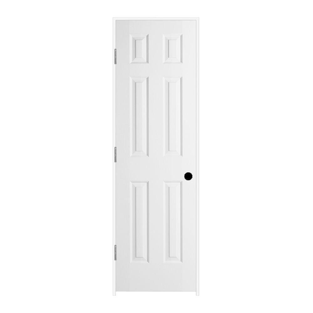 jeld wen 24 in x 80 in colonist primed right 24 In X 80 In Colonist Primed Textured Molded Composite id=89002