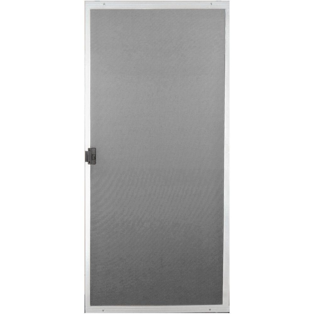 Screen Tight 30 In X 80 In White Royal Screen Door Roy30w Oopes