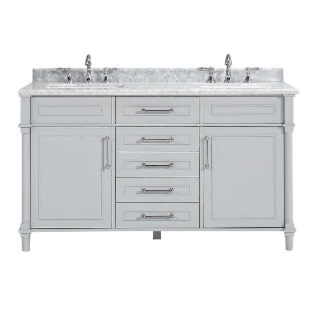 home decorators collection aberdeen 60 in. w x 22 in. d double bath