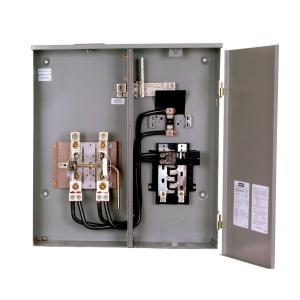 Siemens 400 Amp 8Space 16Circuit Combination Meter Socket Load CenterMC0816B1400RLTM  The