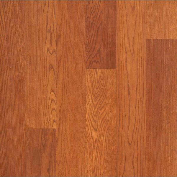 Hampton Bay Brasstown Oak Laminate Flooring   5 in  x 7 in  Take     Hampton Bay Brasstown Oak Laminate Flooring   5 in  x 7 in  Take Home