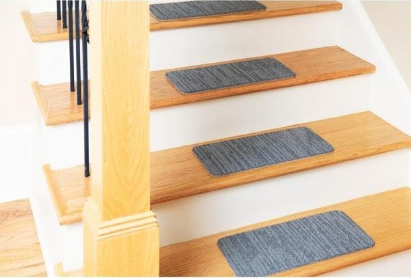 Nance Carpet And Rug Peel And Stick Greyscale Indoor Outdoor 8 In | Indoor Outdoor Carpet For Stairs | Slip Resistant Rubber Backing | Interior | Electric Blue | Stair Residential | Diamond Pattern