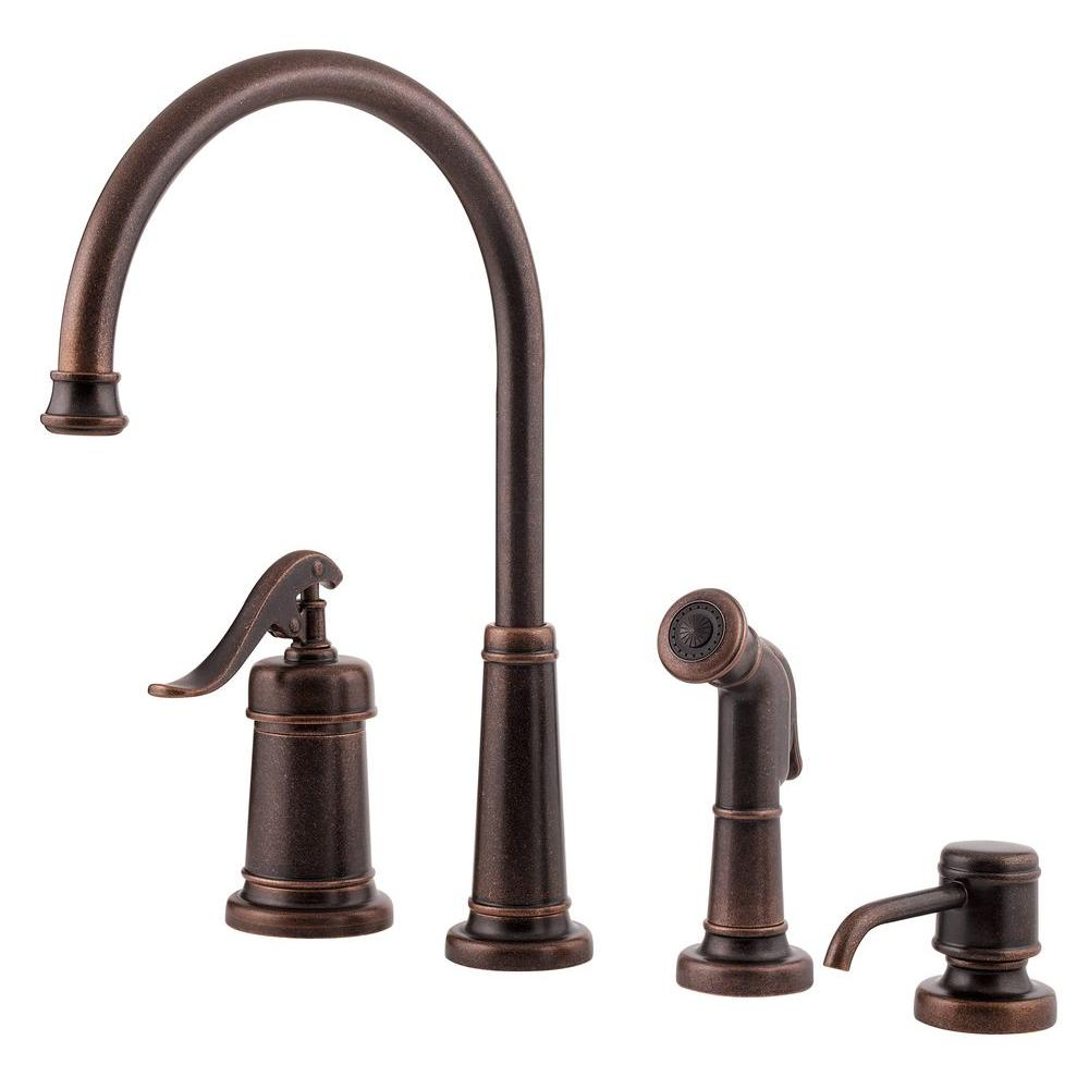 Pfister Ashfield Rustic Bronze