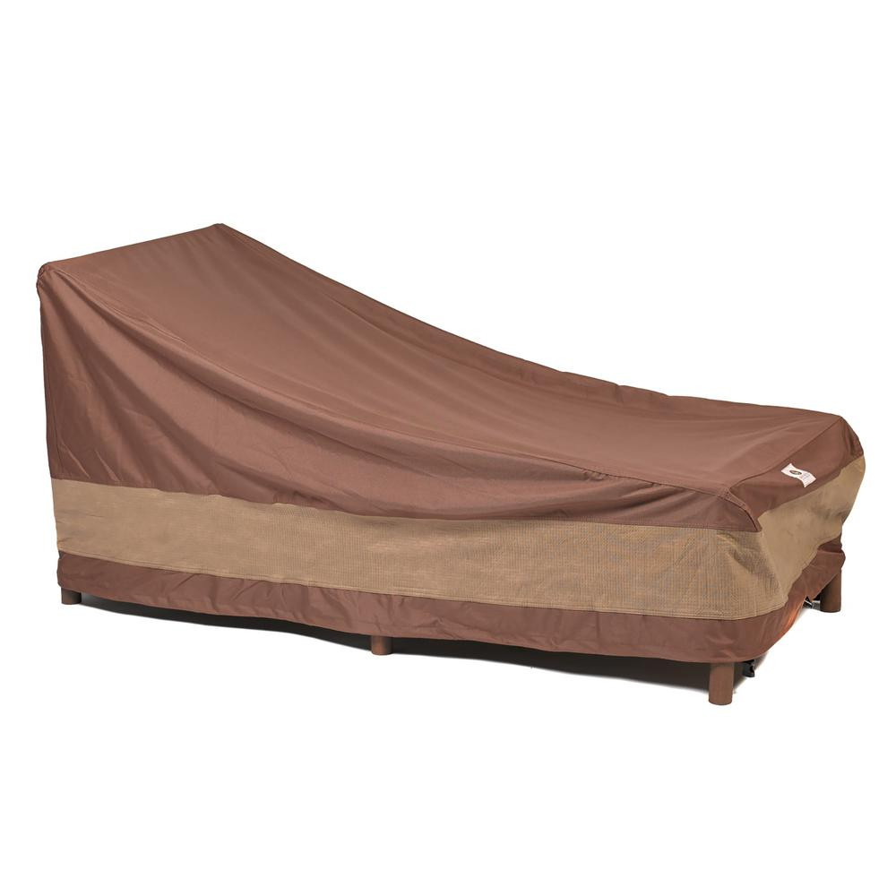 duck covers ultimate 80 in l patio chaise lounge cover uce803032 the home depot