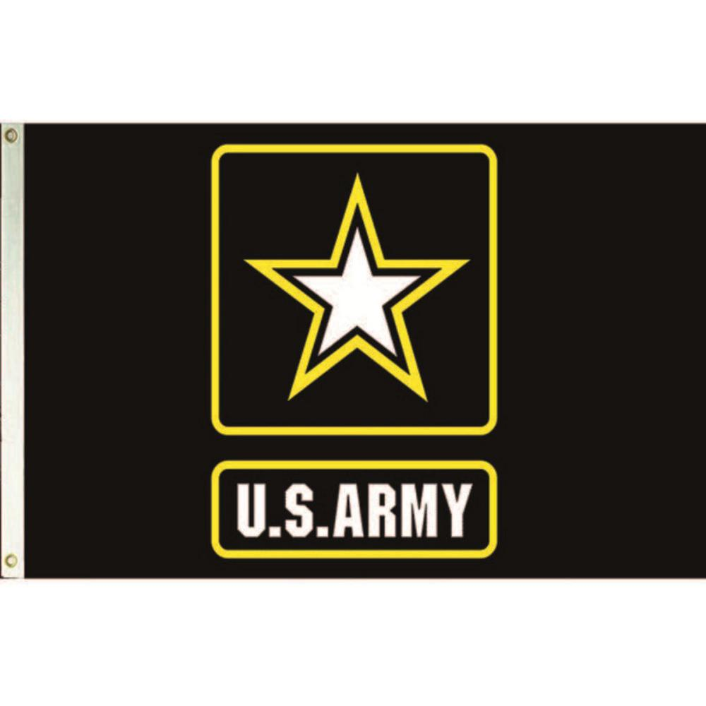 Annin Flagmakers 3 Ft X 5 Ft Nylon U S Army Star Logo Armed Forces Flag 3955 The Home Depot