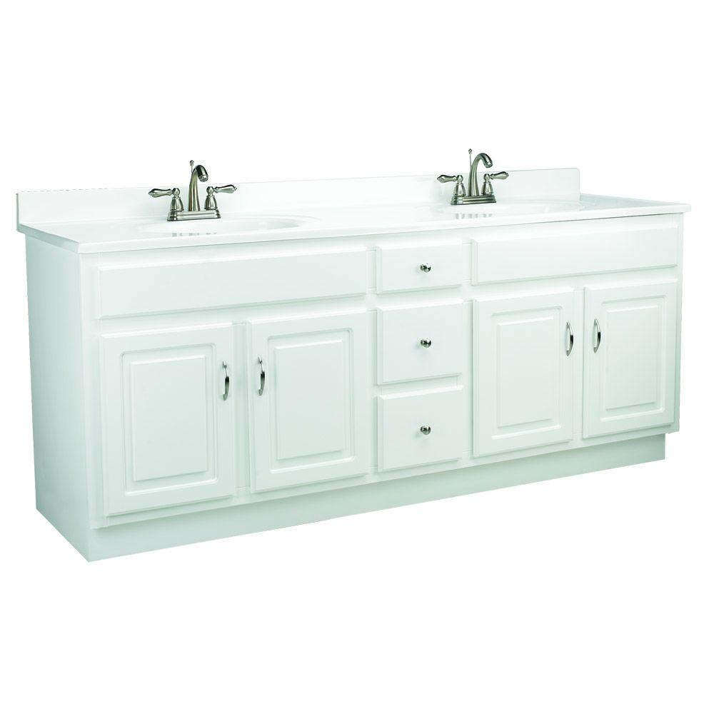 design house concord 72 in w x 21 in d unassembled vanity cabinet only
