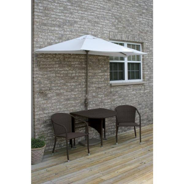 Hampton Bay Pembrey 3-Piece Patio Bistro Set-HD14205 - The ...