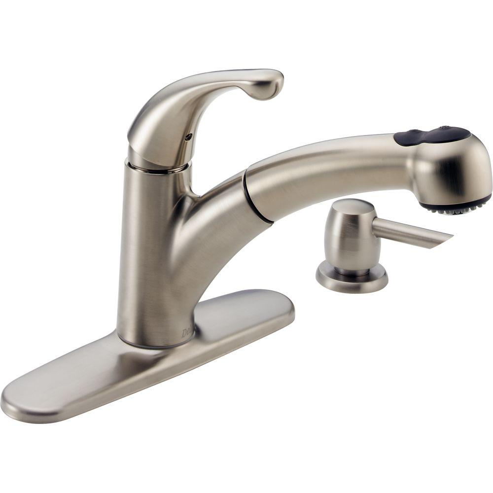 peerless pull out kitchen faucet