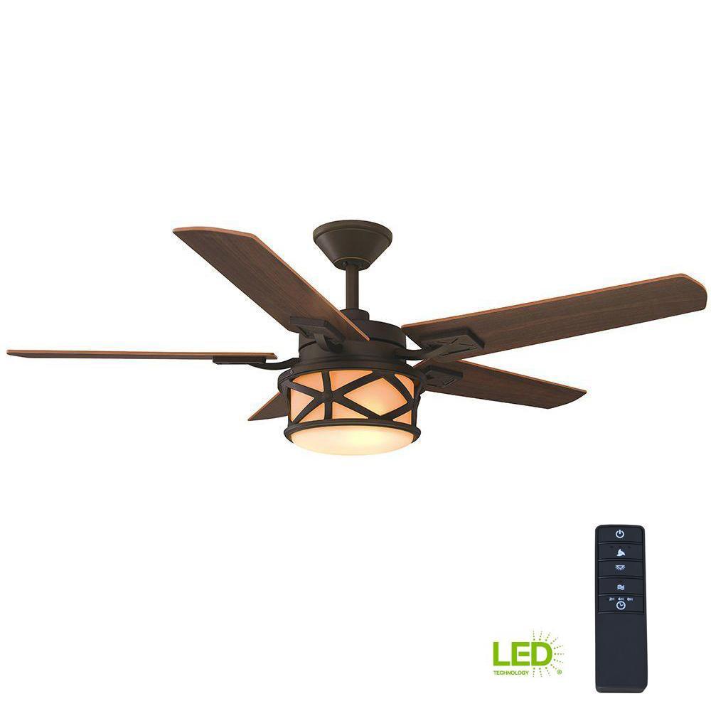 Home Decorators Collection Copley 52 In Indoor Outdoor Oil Rubbed Bronze Ceiling Fan