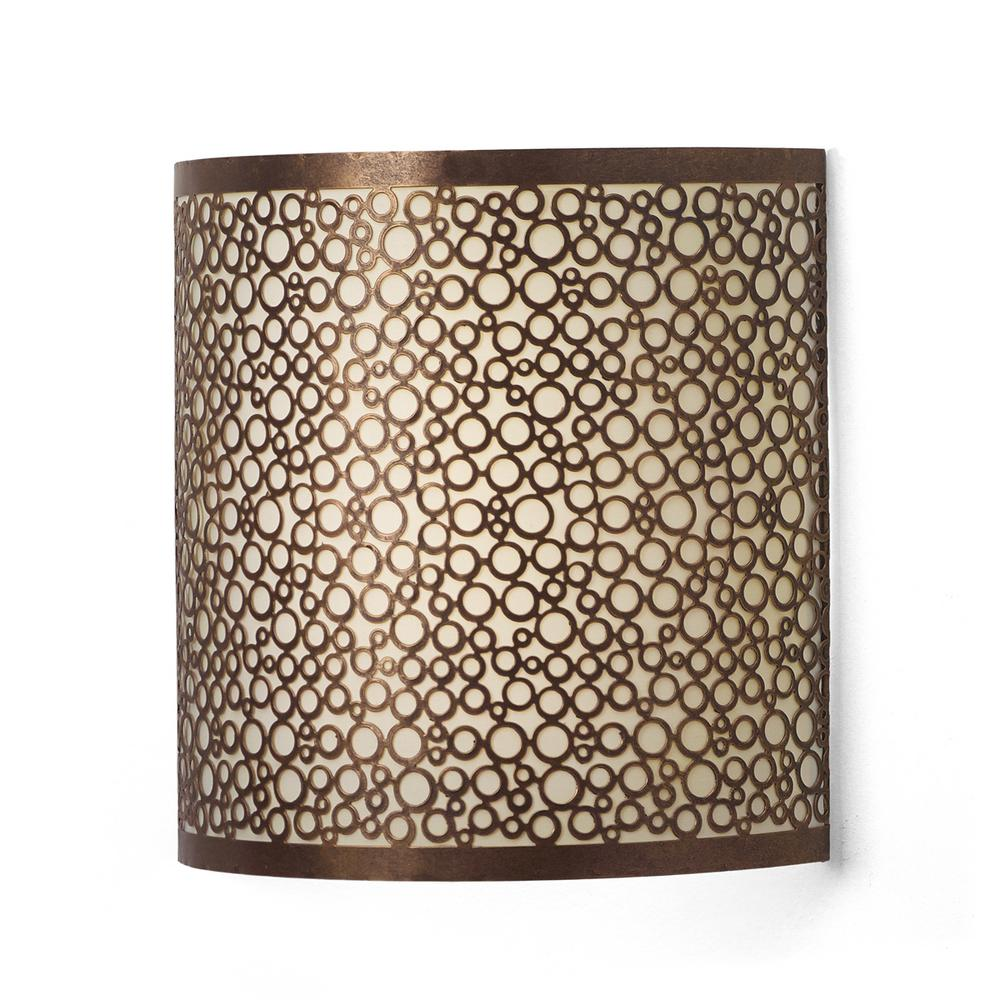 It's Exciting Lighting Olita Barrel Indoor Battery ... on Battery Powered Wall Sconces id=15029