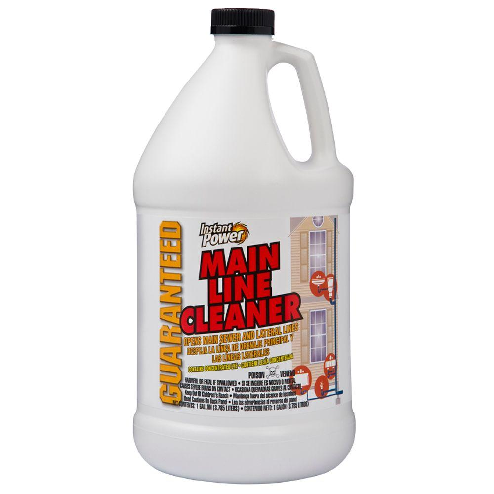 Instant Power 128 Oz Main Line Cleaner 1801 The Home Depot